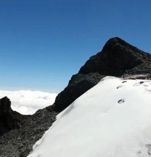 El Último Glaciar de Venezuela: Por Helena Carpio Sierra Nevada de Mérida