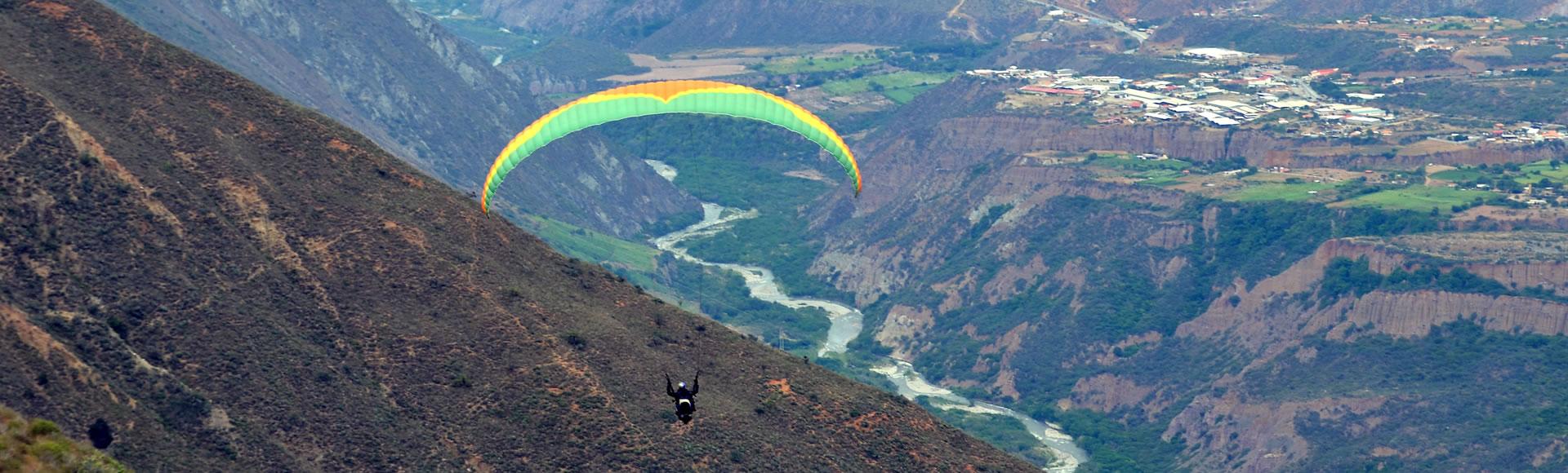 Vuelo en Parapente 6to Aniversario Sierra Nevada de Mérida